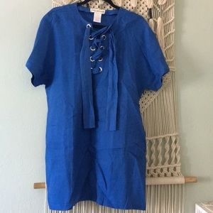 Mara Hoffman Anthropologie linen dress size large
